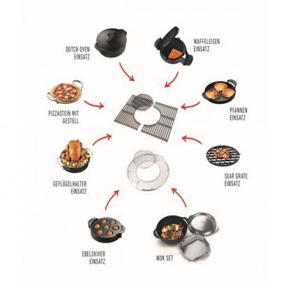 weber gourmet bbq system waffel sandwicheinsatz. Black Bedroom Furniture Sets. Home Design Ideas