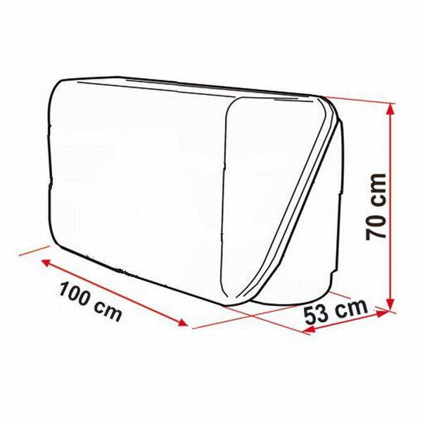 heckbox fiamma ultra box 320 l. Black Bedroom Furniture Sets. Home Design Ideas