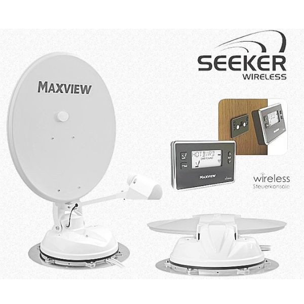 sat anlage maxview seeker wireless 65 cm. Black Bedroom Furniture Sets. Home Design Ideas
