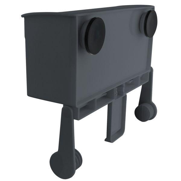 Halter für küchenrolle  Eurotrail Aufbewahrungsbox mit Papierrollenhalter