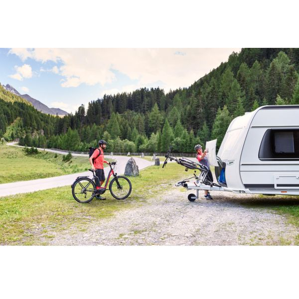 wohnwagen fahrradtr ger thule caravan superb. Black Bedroom Furniture Sets. Home Design Ideas