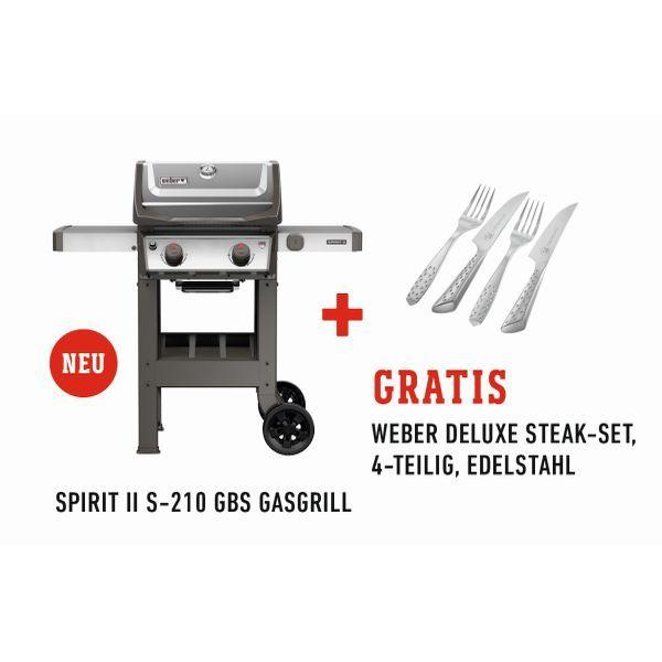 Gasgrill Weber Spirit Ii S 210 Gbs Inkl Steakmesserset