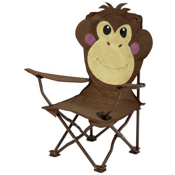 kinder campingstuhl eurotrail ardeche affe. Black Bedroom Furniture Sets. Home Design Ideas