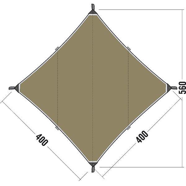 sonnensegel tarp sonnenschutz regendach tatonka tarp 3. Black Bedroom Furniture Sets. Home Design Ideas