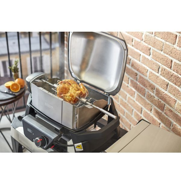 elektrogrill weber pulse 1000 with stand travel wheels. Black Bedroom Furniture Sets. Home Design Ideas