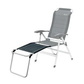 justcamp denver faltstuhl mit fu ablage grau. Black Bedroom Furniture Sets. Home Design Ideas