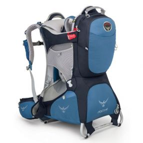 Kindertrage, Kinderkraxe Osprey Poco AG Plus, Seaside Blue