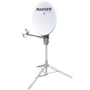Camping-Sat-Anlage Maxview Precision Sat-Kit 55 cm, Twin