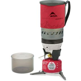 Outdoorkocher MSR WindBurner Kochersystem 1.0 L, Red