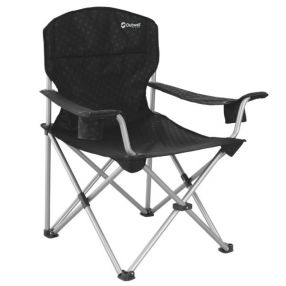 Campingstuhl Outwell Catamarca Arm Chair XL, schwarz