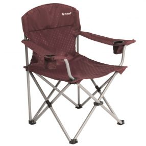 Campingstuhl Outwell Catamarca Arm Chair XL, claret