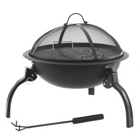 Faltbarer Holzkohlegrill Outwell Cazal Fire Pit M