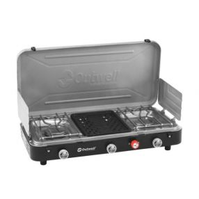 Campingkocher Outwell Chef Cooker, 3-flammig