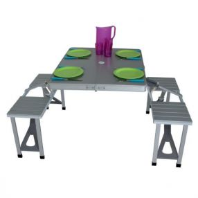 campingtisch mit st hlen bank camping sitzgruppe. Black Bedroom Furniture Sets. Home Design Ideas