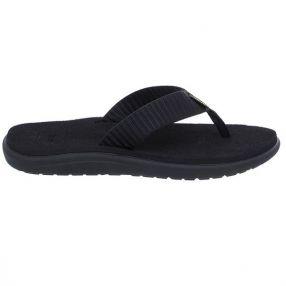 Teva Voya Flip Schwarz, Damen Sandale, Größe EU 40 - Farbe Barstreet Multiblack Damen Sandale, Barstreet Multiblack, Größe 40 - Schwarz