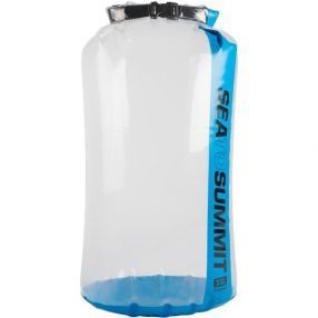 Packsack Sea to Summit Clear Stopper Dry Bag, 35 Liter, clear/blue