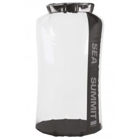 Packsack Sea to Summit Clear Stopper Dry Bag, 13 Liter, clear/black