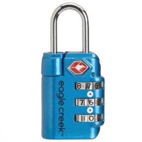 TSA-akzeptiertes Zahlenschloss eagle creek Travel Safe TSA-Lock, brilliant blue