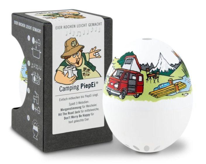 Camping Piep-Ei lustige Eieruhr zum Verschenken